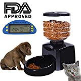 Happy & Polly Automatic Pet Feeder with Digital LCD Display Timer and Voice
