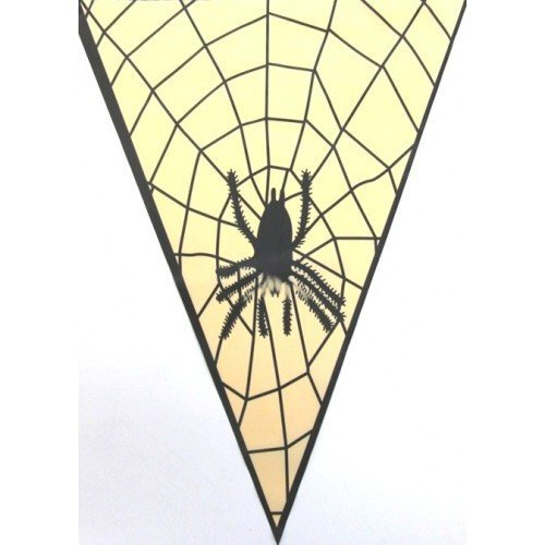 Bunting Spider Design 15 Flags on 6m by CC