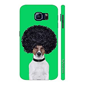 Enthopia Designer Hardshell Case Afro Dog Back Cover for Samsung Galaxy S7 Plus