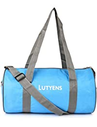 713ea1a6e26a Lutyens Polyester 21 Litres Blue Grey Gym Bag