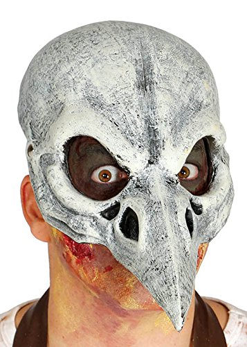 Magic Box Int. Halloween Vogel Schädel Krähe Pest Arzt - Voodoo Hexe Arzt Kostüm