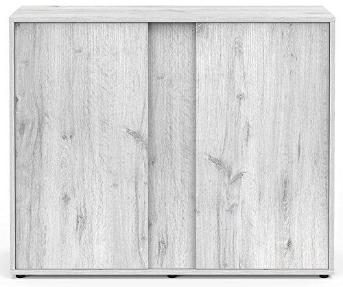 Mueble Acuario Expert 100roble blanco Aquatlantis
