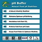 HYDRA All Aquatic Processes are pH Sensitive & Maintaining an optimum pH level Use pH BUFFER 5Kg treats UpTo 5,000… 6