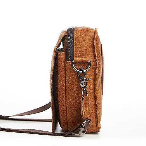 JOYIR - Riñonera Brown Color Size:32L x 42H x 10D inch