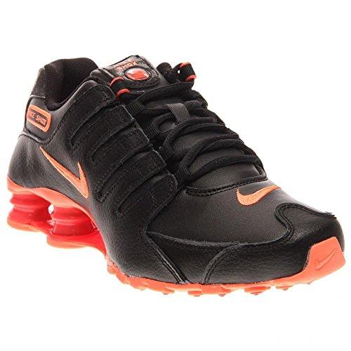 Shox NZ scarpa da running Black/Bright Mango-Bright Crmsn