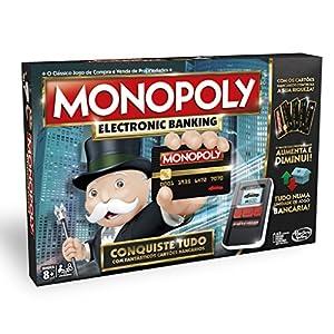 Hasbro Gaming - Monopoly Electronic Banking (Hasbro B6677190) (versión en portugués)