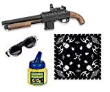 Martinez 38218. Escopeta airsoft Mossberg 500 corta. Calibre 6mm. Potencia 1,1 Julios