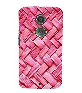 PrintVisa Designer Back Case Cover for Motorola Moto X2 :: Motorola Moto X (2nd Gen) (Over Lapping Jute Pattern)