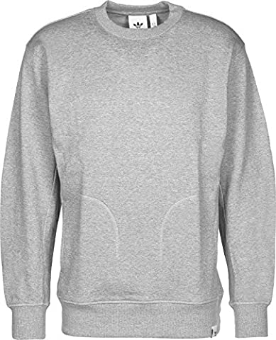 adidas Xbyo Sweat-Shirt Homme, Gris, FR : 2 XL (Taille Fabricant : 2 XL)