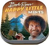 The Unemployed Philosophers Guild Bob Ross Happy Little Mints - 1 Tin of Mints