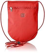 BOGNERVerbier Tiny Neckpouch LvzfemmePortefeuillesRouge (Red) 1x19x15 Centimeters (W x H x L)