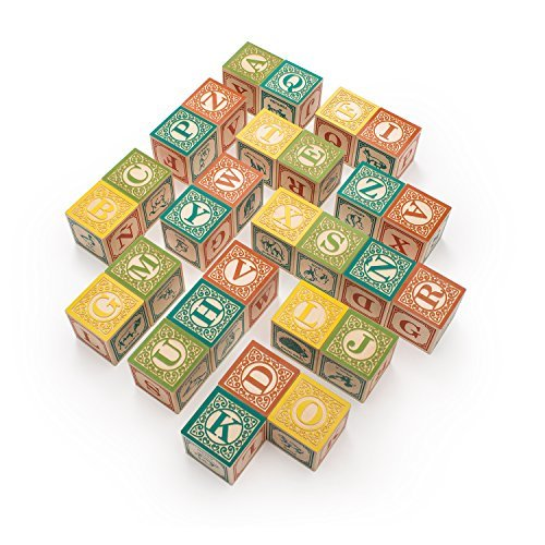 Uncle Goose Spanish ABC Blocks - Made in USA by Uncle Goose