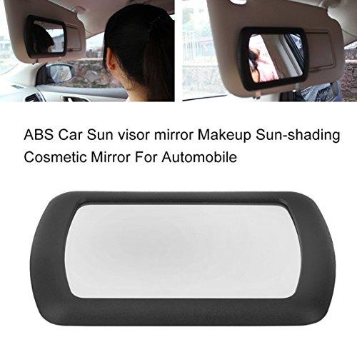 Footprintse ABS Auto Sonnenblende Spiegel Make-up Sonnenschutz Kosmetikspiegel für Automobil...