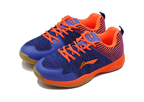 Li Ning ION-II Super Light Badminton Sports Shoes, Blue
