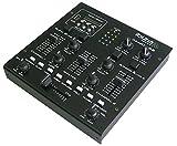 Ibiza DJM200USB Table de mixage Noir...