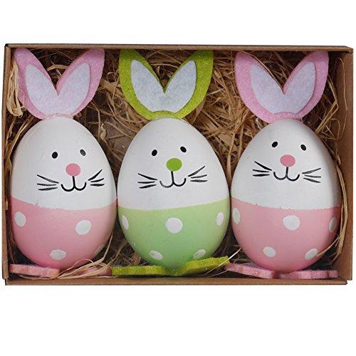 Preisvergleich Produktbild HAHAone Kaninchen Ostereier Osterei Designs Ei Spielzeug Ostern Geschenke kinder überraschung Eier spielen