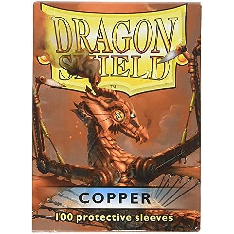 100 Deck Protector mangas Magic Dragon Shield ESTÁNDAR DE COBRE Cobre Tarjeta mangas Sobres