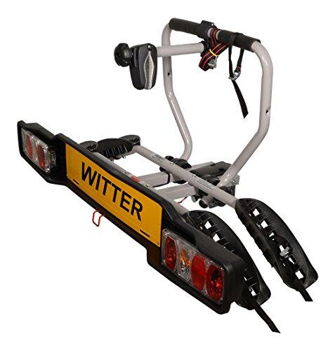 Witter Towbars Zx202 -Portabicicletas para 2 Bicicletas, se Monta en la Bola de Remolque