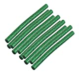 sourcingmap® 10Stk 100mmx7mm Stick grün heiß Schmelzkleber für General Zweck Heißleim Pistole