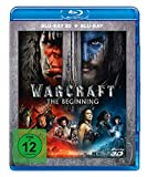 Warcraft: The Beginning [Blu ray 3D + Blu-ray]