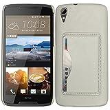 BYD-Weiß HTC Desire 828w Tasche PULederCase Flip