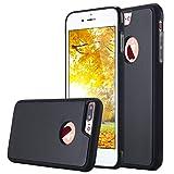 iPhone 8 Plus Hülle, iPhone 8 Plus Case,iPhone 7 Plus Hülle, iPhone 7 Plus Case,Snewill Anti-Gravity Selfie Case für iPhone 8 Plus/7 Plus(5,5 Zoll),Hände frei Nano Saug-Stick zu Glas, Fliesen, Auto GPS, die meisten glatte Oberfläche-Schwarz