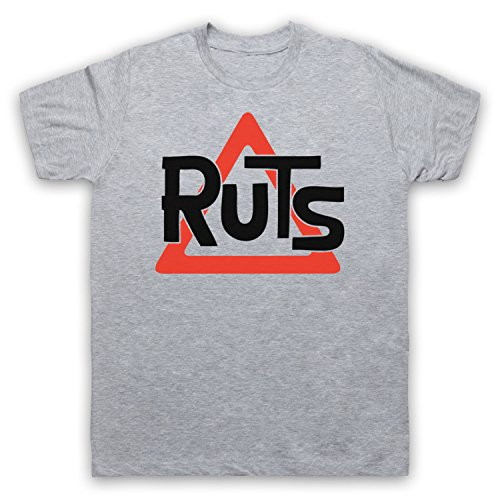 Inspiriert durch Ruts Logo Unofficial Herren T-Shirt Grau
