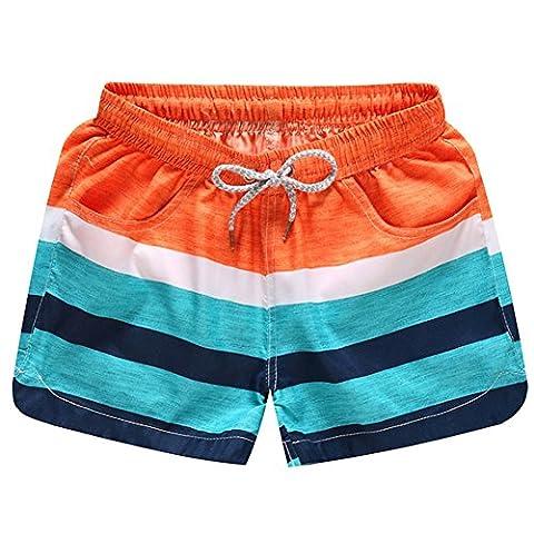O-C Womens'beach shorts summer beach pants Large
