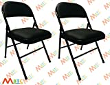 #3: MBTC Clark Seat And Back Cushion Folding Chair (Set Of 2)
