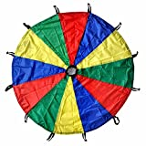 #5: GSI Kids Play Parachute for Cooperative Play and for Upper-Body Strength (6 Feet)
