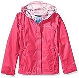 Columbia Wasserdichte Jacke für Mädchen, Arcadia Jacket, Polyester, pink (Punch pink), Gr. XXS, RG2122