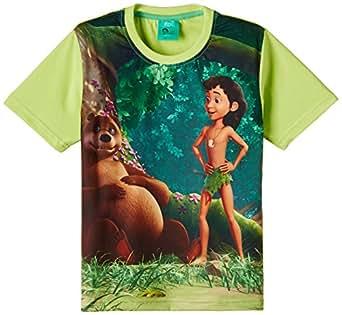 Jungle Book Boys' T-Shirt (JB 1502_Mint_11-12 years)