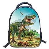 Eleoption Kindergartenrucksack Wasserdicht Rucksäcke 3D Dinosaurier Pattern Kinder Schultasche Kindergartentasche (Stil ZZ43)