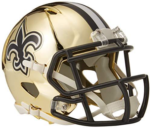 Saints NFL Chrome Alternate Speed Mini Helm ()