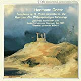 Hermann Goetz: Symphony No. 9; Violin Concerto, Op. 22; Der Widerspenstigen Zähmung