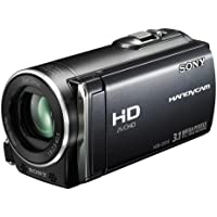 Sony HDR-CX115EB Full HD Camcorder (Flash, 25 fach optischer Zoom, 6,9 cm (2,7 Zoll) Display, EXMOR R Sensor, Touchscreen) schwarz