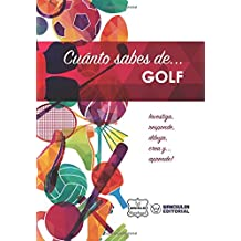 Cuánto sabes de... Golf