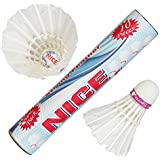 [Sponsored]NC-10 Nice Strong Feather Badminton Shuttlecocks (Pack Of Ten).