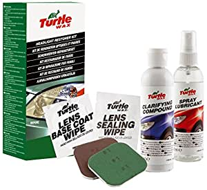 Turtle Wax FG7606 Green Line Headlight Restorer Kit