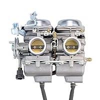 GOOFIT Carburetor doble cilindro doble Carb para la cámara de Honda 250cc Rebel CMX 250cc CMX250 CA250