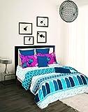 Tangerine Desi Beats 2 210 TC Cotton Bed...