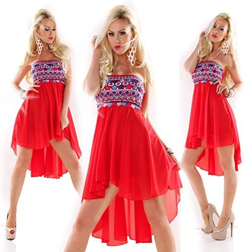 Fashion - Robe - Femme Taille Unique Rouge