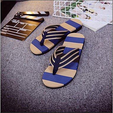 Slippers & amp da uomo;Estate comfort personalizzato Materiali nylon casuale piani del tallone Altri Altro sandali US10 / EU43 / UK9 / CN44