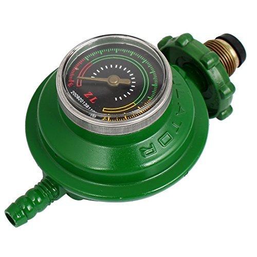DealMux Bottled Liquified Petroleum Gas Tank Druckregler Grün -