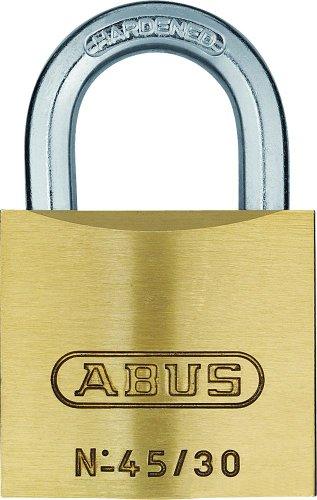 ABUS Messing-Vorhangschloss 45/30 Twins Set-2-Stück gleichschließend, 11821
