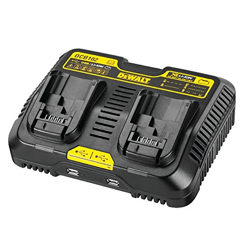 DeWalt System for battery and USB Charger, DCB102-QW