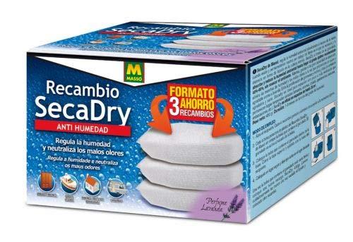 MASSO Pack 3 Recambio SECADRY Antihumedad