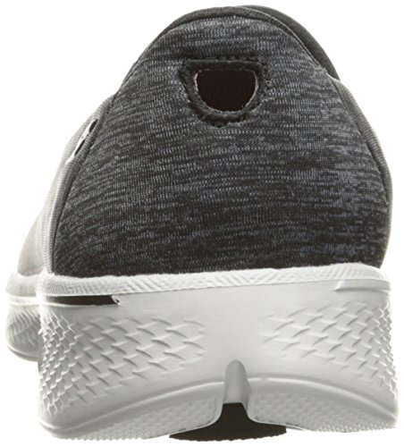 Skechers Damen Go Walk 4-Achiever Sneakers black/gray