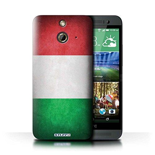Kobalt® Imprimé Etui / Coque pour HTC One/1 E8 / Corée/coréen conception / Série Drapeau Italie/italien
