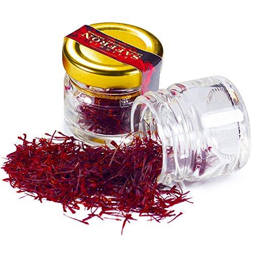 Keynote Kashmir Saffron (Certified Grade - I) 1 gram  available at amazon for Rs.470